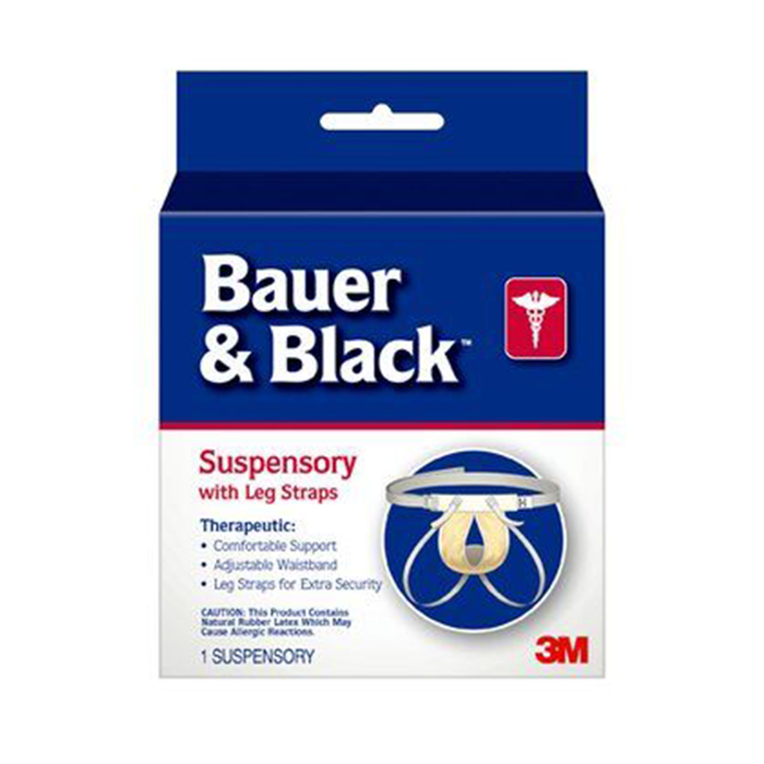 Bauer & Black 0-2 Suspensory W/Leg Strap 201161, Medium