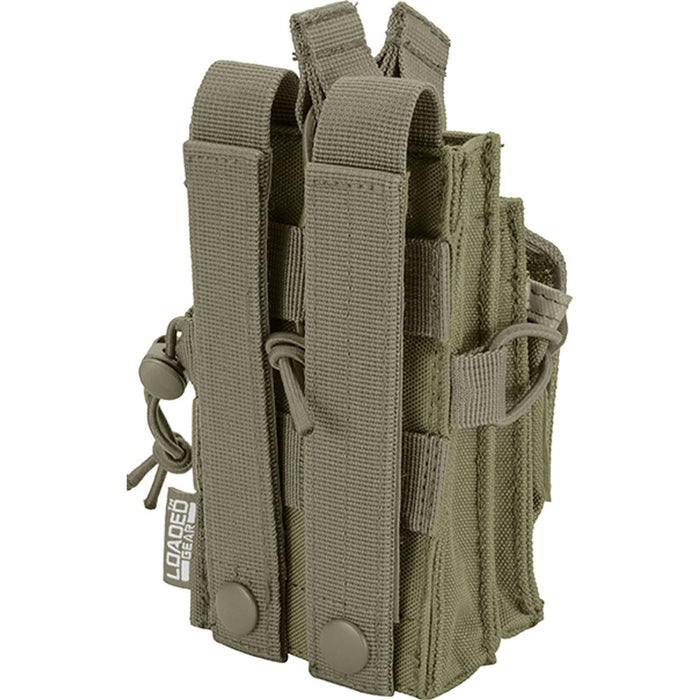 Barska BI13016 Loaded Gear CX-950 Dual Stacked Rifle and Handgun Mag Pouch