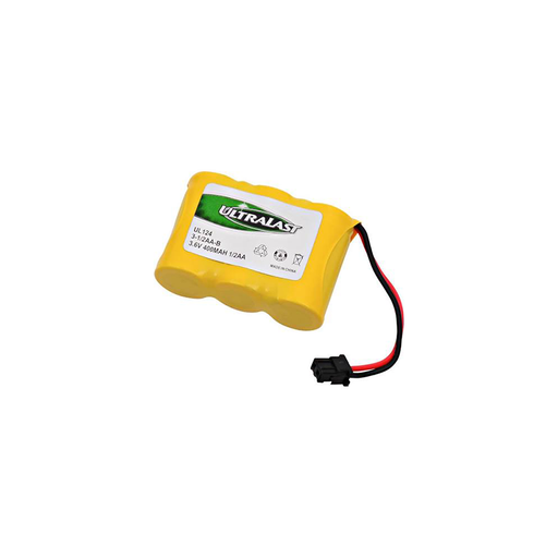 Dantona 3-1/2AA-B - Ni-CD, 3.6 Volt, 400 mAh, Ultra Hi-Capacity Battery
