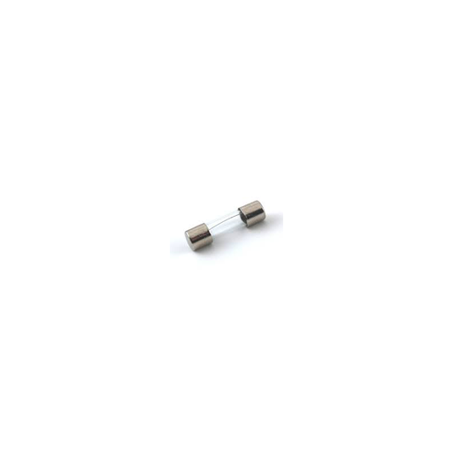 NTE 74-5FG500MA-B FUSE-MINIATURE 5 X 20MM GLASS 500MA 125V/250V FAST ACTING 5/PKG BLISTER