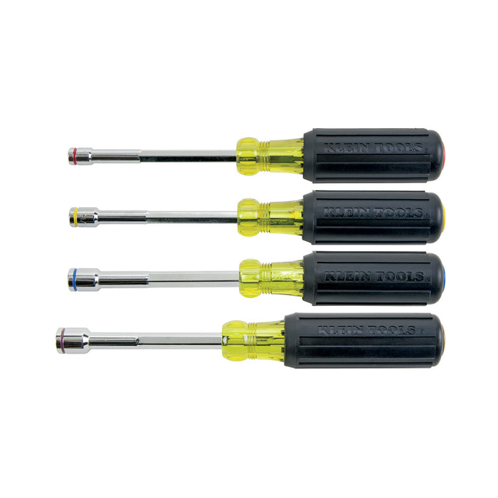 Klein Tools 635-4 Heavy-Duty Nut Driver Set, 4 Piece