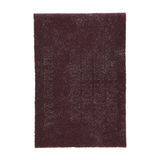 3M 07447 Scotch-Brite Maroon General Purpose Hand Pad, 20 Piece