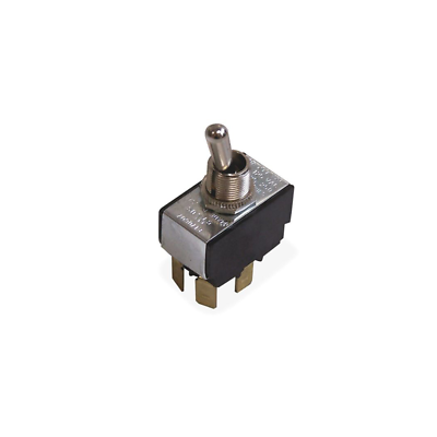 Ideal 774005 Toggle Switch, Heavy-Duty, DPST, On-Off, Spade