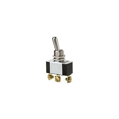 Ideal 774013 Toggle Switch SPDT On-Off-On Screw