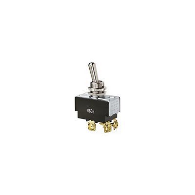 Ideal 774014 Toggle Switch DPST On-Off Screw