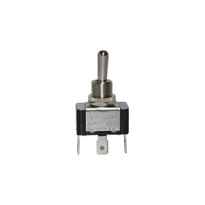 Ideal 774027 Toggle Switch, SPDT, On-Off-On, Spade