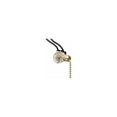Ideal 774031 Pull Chain Switch with Wire Leads, SPST