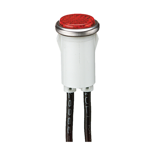 Ideal 777121 Flush Indicator Light 125 Volt, Red