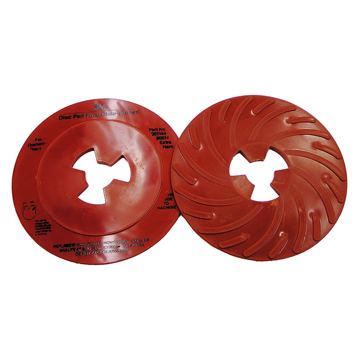"3M 80514 7"" Ribbed Face Plate Disc Pad"