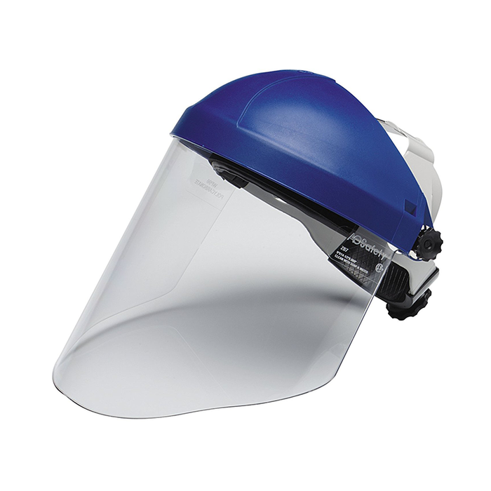 3M 82783-00000 Head and Face Protection Ratchet Headgear H8A, with 3M Clear Polycarbonate Faceshield