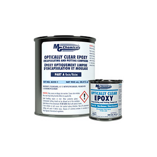 Mg Chemicals 8322-1 Opticallly Clear Epoxy