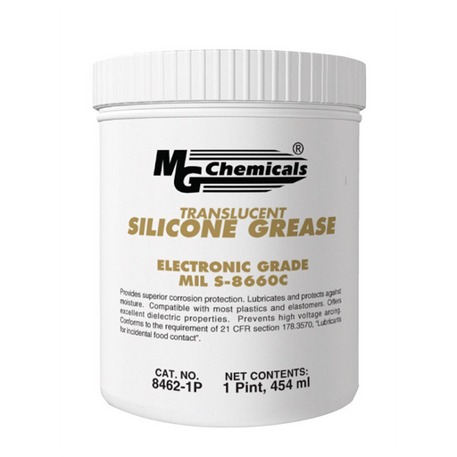 Mg Chemicals 8462-1P Translucent Silicone Grease