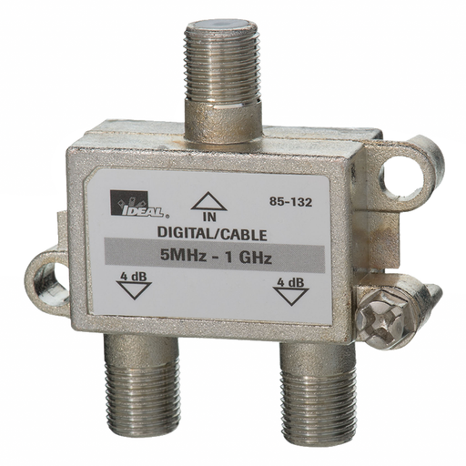 Ideal 85-132 1 GHz 2-Way Cable TV/General Purpose Splitters