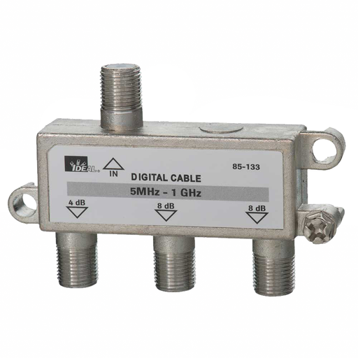 Ideal 85-133 1 GHz 3-Way Cable TV/General Purpose Splitters