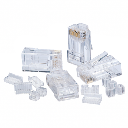 Ideal 85-366 CAT6 RJ-45 8P8C Modular Plugs - 25/Pack
