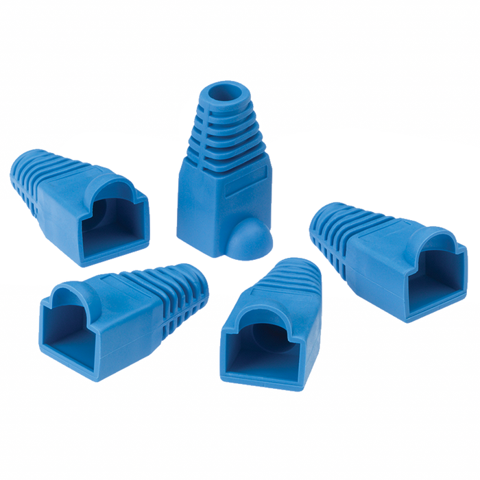 Ideal 85-379 CAT5e RJ-45 and Strain Relief Boots - 15/Pack