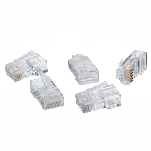 Ideal 86-396 CAT5e RJ-45 8P8C Modular Plugs - 100/Pack