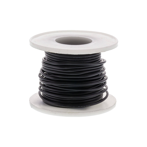 Elenco 884410 Black 22 AWG Solid 25 ft.