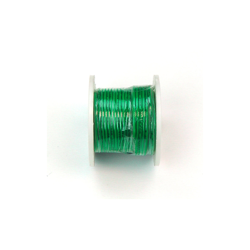 Elenco 884450 Green 22 AWG Solid 25 ft.
