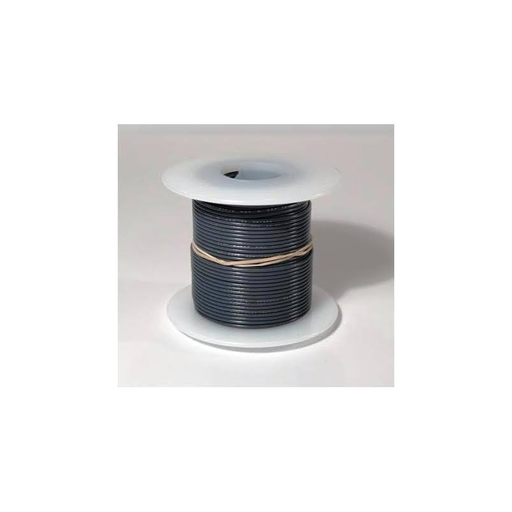 Elenco 884480  Grey 22 AWG Solid 25 ft.