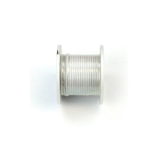 Elenco 884490 White 22 AWG Solid 25 ft.