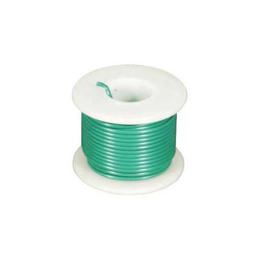 Elenco 885250 Green 22 AWG Stranded 25 ft.
