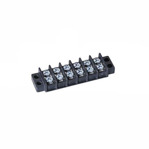 Ideal 89-206 Terminal Strip, 6-Pole, 22-10 AWG
