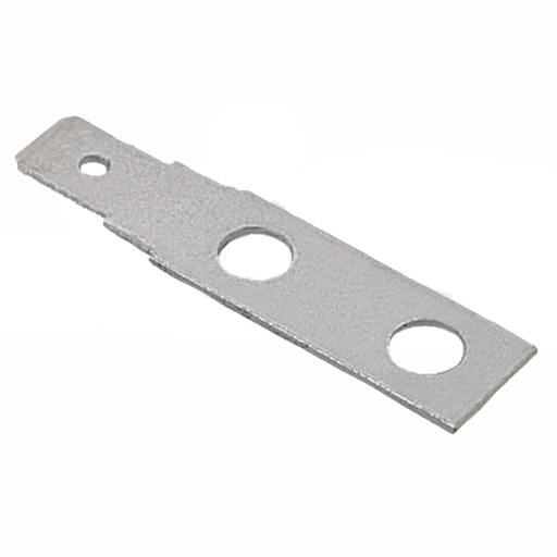 Ideal 89-314 Terminal Strip Quick Connect, Flat-None, .187 Tab, 10/Card