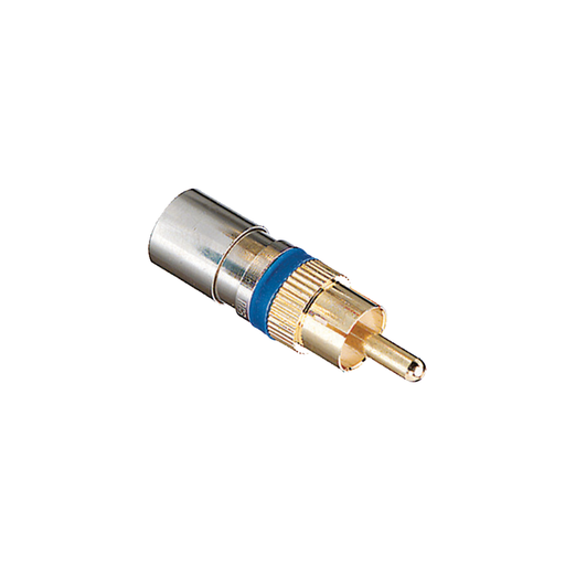 Ideal 89-580 RG-6 RCA RTQ Compression Connector - 35/Pack