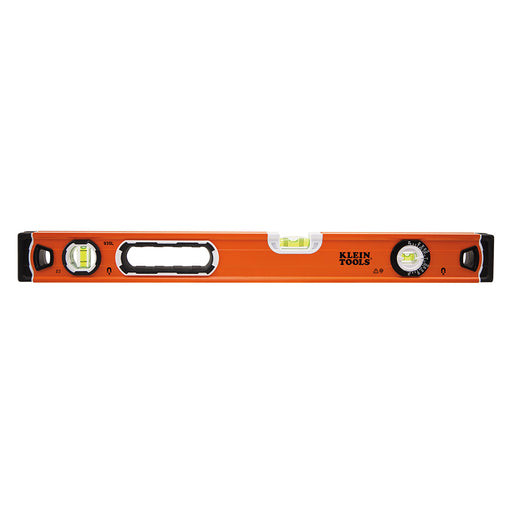 Klein Tools 935L Level, 24-Inch Magnetic Bubble Level with Adjustable Vial and Top V-Groove