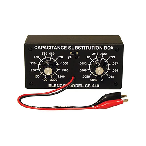 Elenco K-38 Capacitor Substitution Box