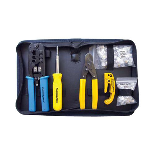 Platinum Tools 90109 All-In-One Modular Plug Tool Kit, w/Zip Case. Box.