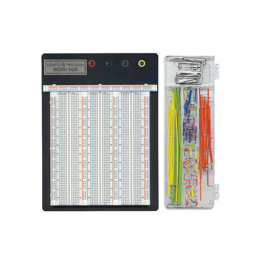 Elenco 9488WK Breadboard 9438 With JW-350 Jumper Wire Set