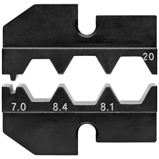 Knipex 97 49 20 Crimping Dies for F-connectors