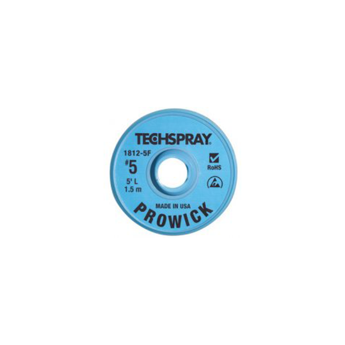 Techspray 1812-5F Desoldering Braid