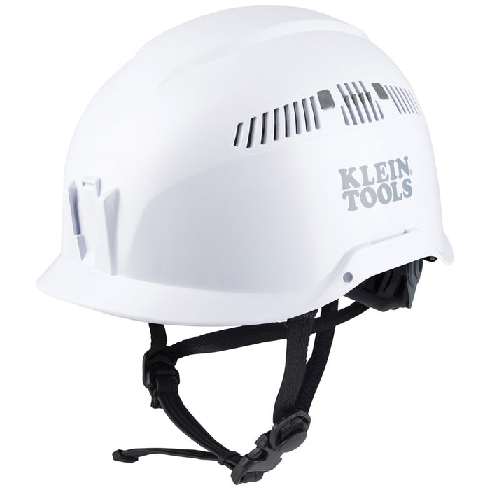 Klein Tools 60149 Safety Helmet, Vented-Class C, White