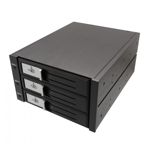 "Syba SY-MRA35029 3.5"" 3-Bay SATA/SAS HDD Internal Enclosure"