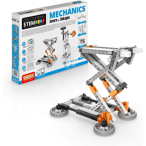 Elenco ENGSTEM-01 Engino STEM MECHANICS Levers & Linkages Kit