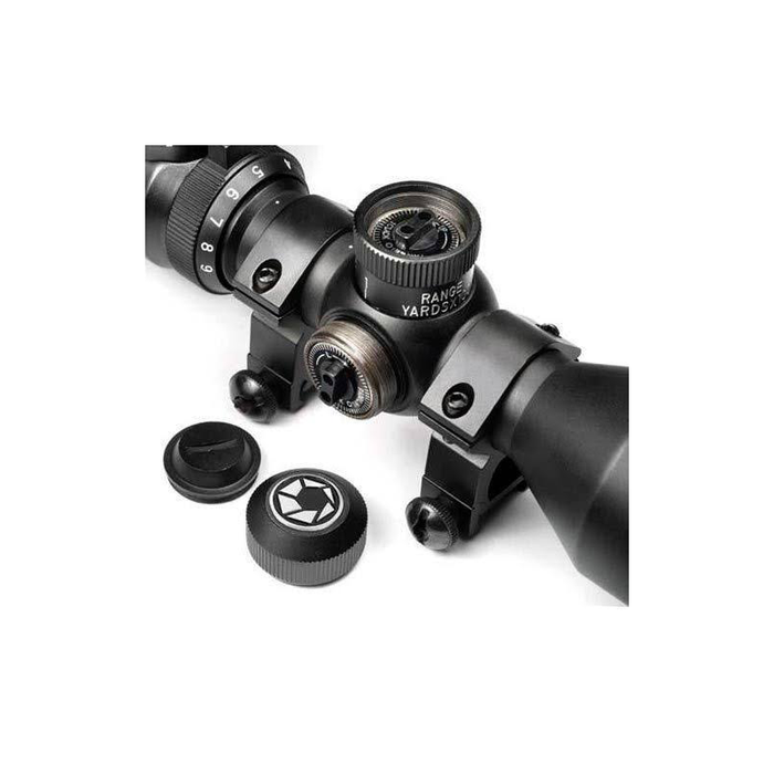 Barska AC10552 3-9x42mm IR Contour Mil-Dot Compact Rifle Scope