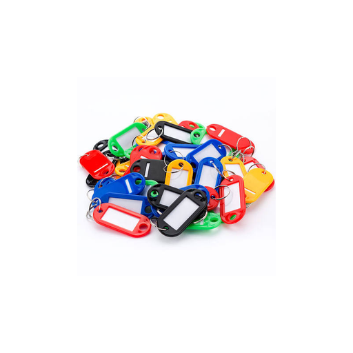 Barska AF12496 Assorted Key Tags 50 Pack For Key Cabinets