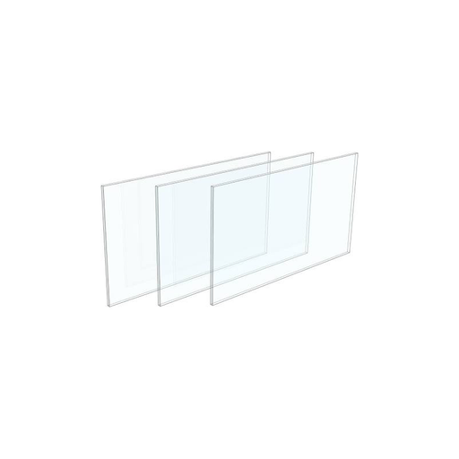 Barska AF12720 Glass for Breakable Key Box AX11826 3 pcs