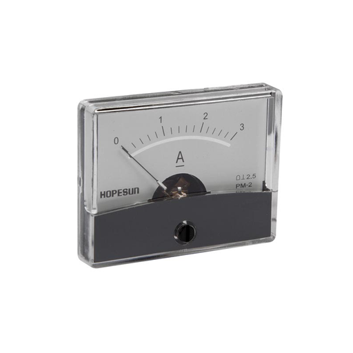 "Velleman AIM603000 Analog Current Panel Meter 3A DC / 2.4"" x 1.9"""