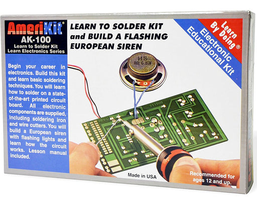 Elenco AK-100 AmeriKit Learn to Solder Kit