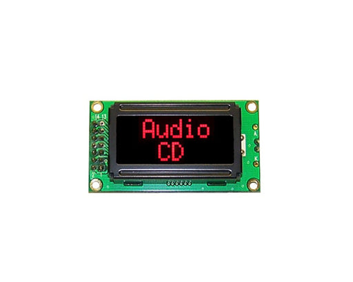 Orient Display AMC0802B-B-T6WTDR 2x8 Character LCD Display Module