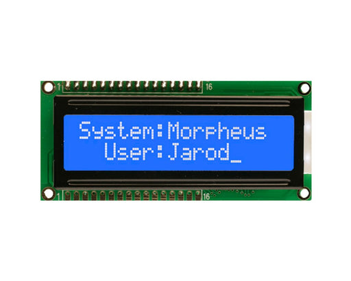 Orient Display AMC1602A-B-B6WTDW 2x16 Character LCD Display Module