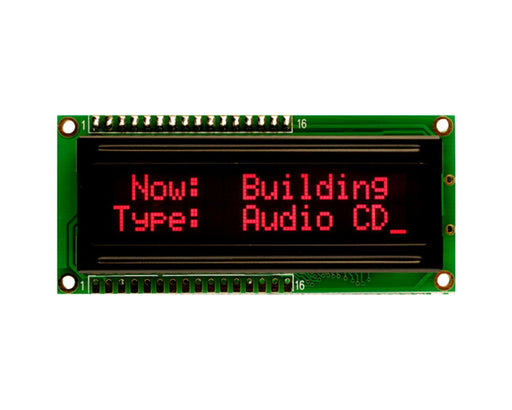 Orient Display AMC1602AR-B-T6WTDR 2x16 Character LCD Display Module