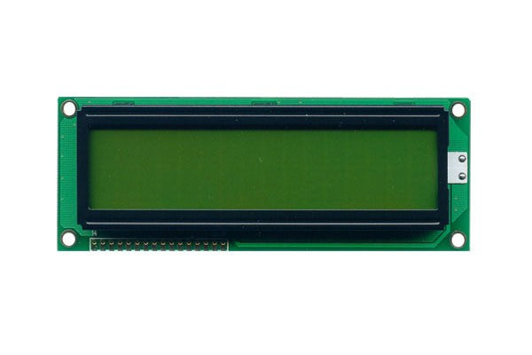 Orient Display AMC1602B-D-Y6NFDY 2x16 Character LCD Display Module