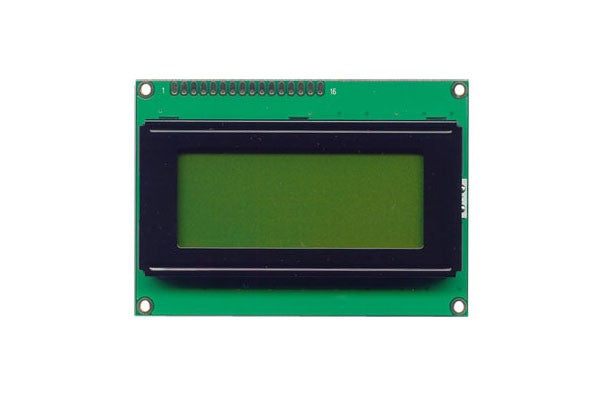 Orient Display AMC1604A-B-Y6NFDY 4x16 Character LCD Display Module