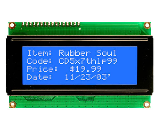 Orient Display AMC2004A-B-B6WTDW 4x20 Character LCD Display Module
