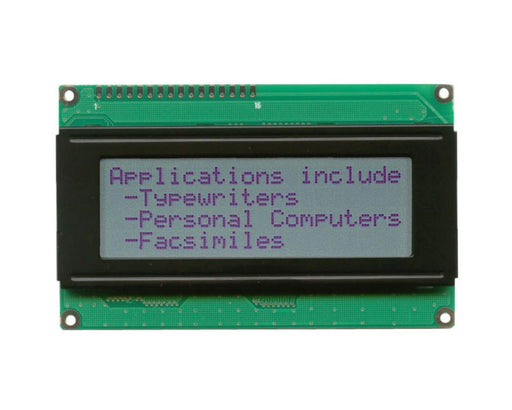 Orient Display AMC2004AR-B-G6NRN 4x20 Character LCD Display Module